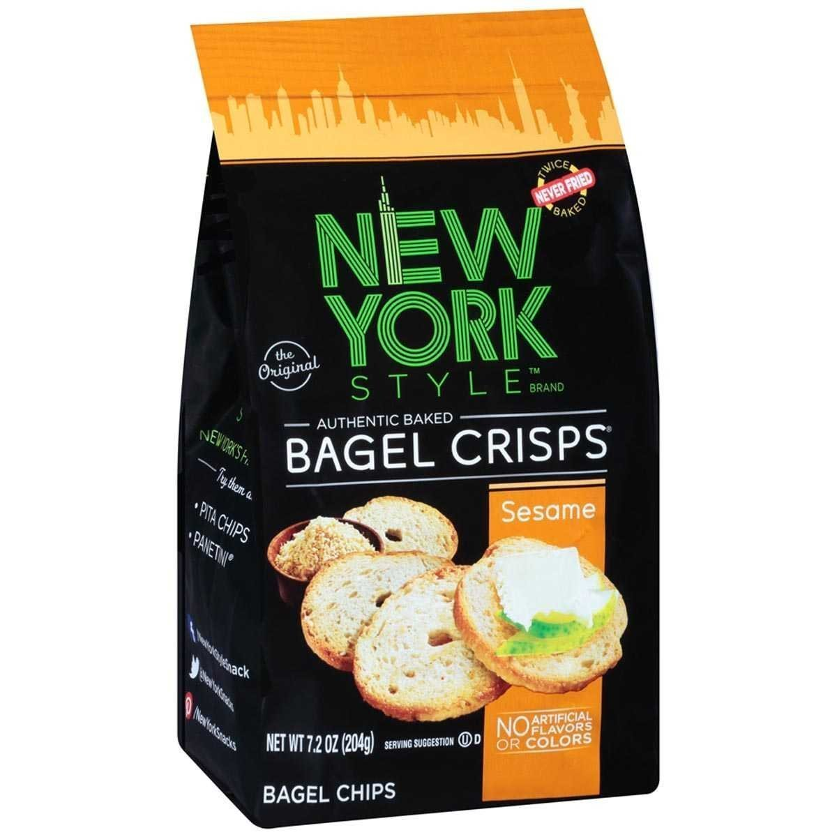 Ny Style Bagel Crisp Sesame (7.2 Oz) (1 Pack) by New York Style