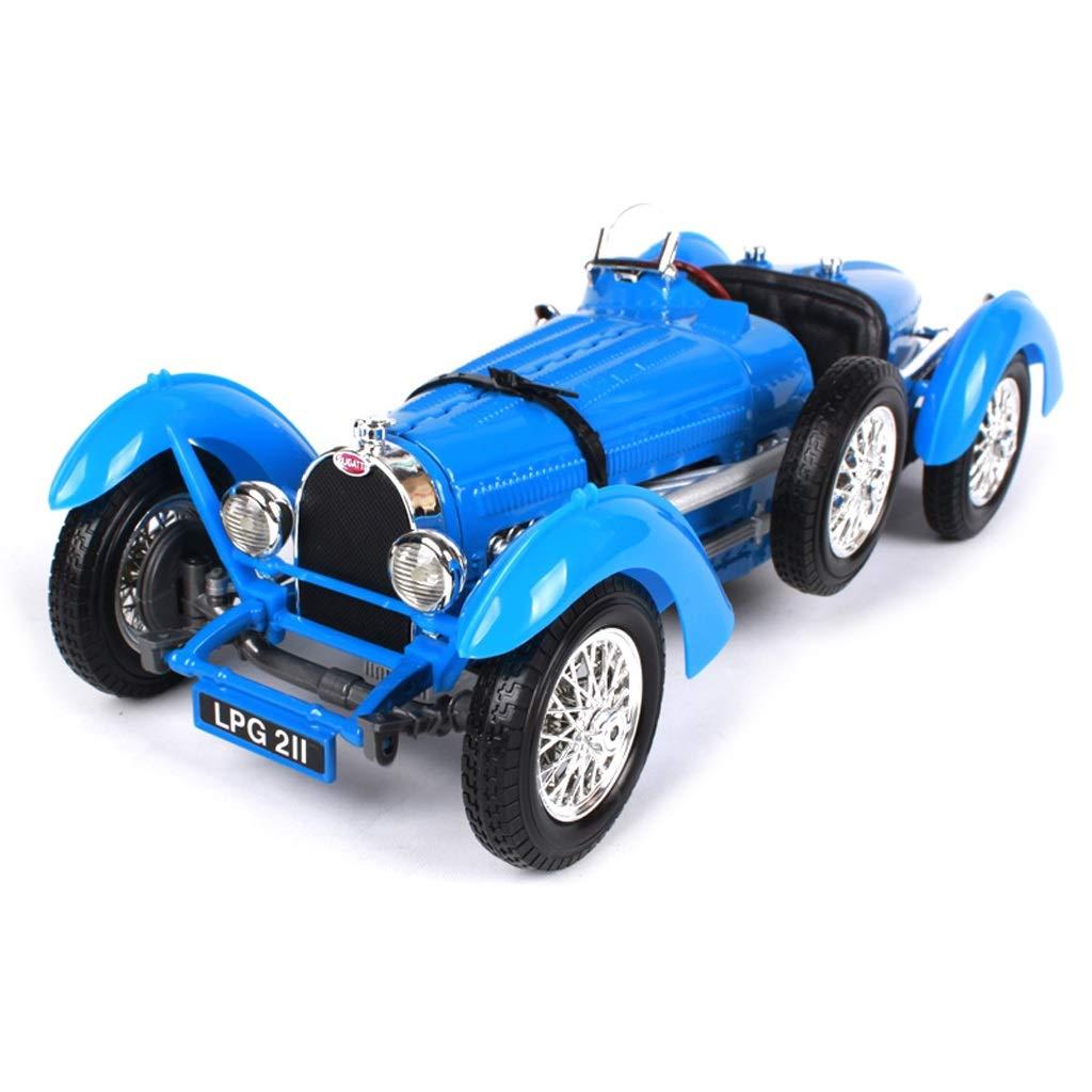 Auto modellolo SXZHSM Auto modellolo Auto 1 18 Retro 1934 Bugatti TYPE59 Lega di Simulazione Die-Casting Giocattolo Gioielli Auto Sportiva Collezione Gioielli 25.2x10x7.6CM