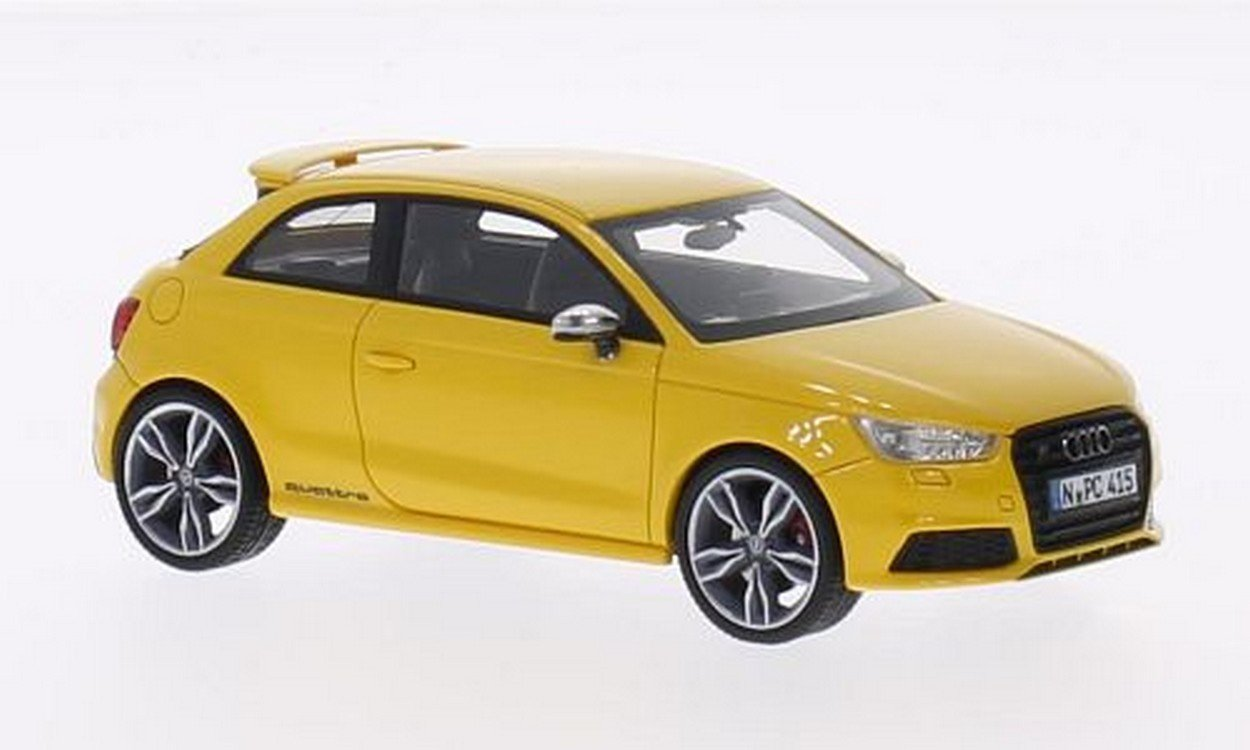 NEO+ Scale Models NEO46415 Audi S1 2014 Yellow 1:43 MODELLINO Die Cast Model