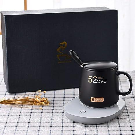 Coffee Mug Warmer with Automatic Shut Off Mug Warmer Coffee Warmer Coffee Cup Warmer Beverage Warmers Plate Cup Warmer Pad For Desk Office
