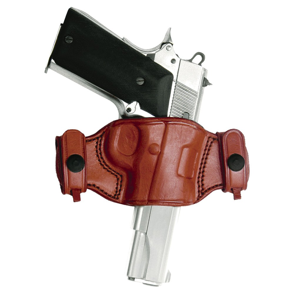 Tagua BH2S-993 Quick Draw Belt Snap Holster, S&W Model 6906, Brown, Left Hand