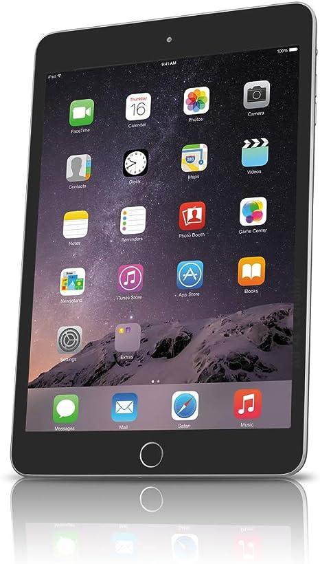 Amazon.com: Apple iPad mini 3 (reacondicionado), Gris ...