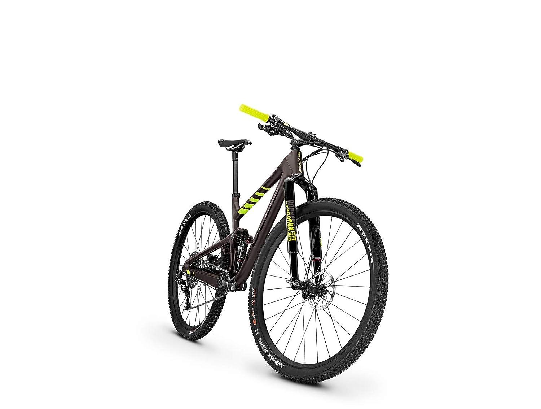 Focus MTB O1E Factory 12G - Bicicleta de montaña (29 Pulgadas), Color marrón y Amarillo Mate: Amazon.es: Deportes y aire libre