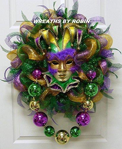 Mardi Gras Wreaths - 9