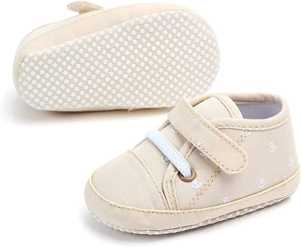 Togudot Baby Shoes Sneakers Infant for Boys Girls Walking Tennis Canvas Toddler First Walkers Shoes 0-18 Months