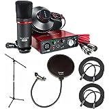 Focusrite Scarlett Studio (2nd Gen) USB Audio Interface & Recording Bundle