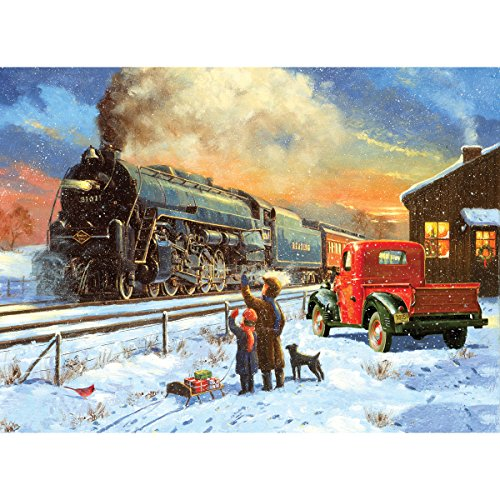 Royal Brush Paint by Number Kit, 15.375-Inch by 11.25-Inch, Home for Christmas