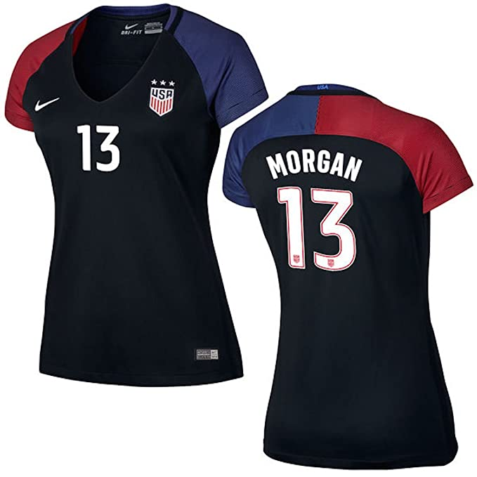 Amazon.com : Alex Morgan US Soccer Nike Womens Away Replica Stadium Jersey : Sports & Outdoors