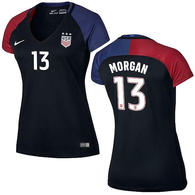 Amazon.com : Alex Morgan US Soccer Nike Womens Away Replica Stadium Jersey : Sports & Outdoors