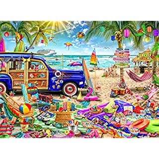 Buffalo Games - Aimee Stewart - Beach Vacation - 1000 Piece Jigsaw Puzzle
