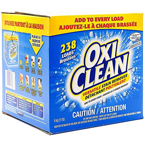 (OxiClean Versatile Laundry Stain Remover Mega Value (238 Loads (11lbs)))