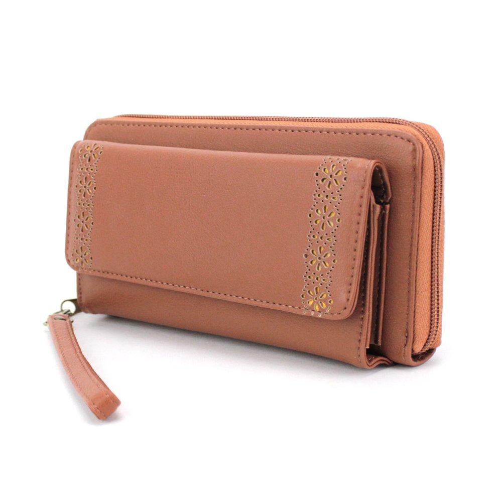 85f933eae93b Amazon | やりくり上手さんのお財布 長財布 家庭用と自分用の仕分けが可能 大容量 スマホ収納可 レディース | サンアート | 財布