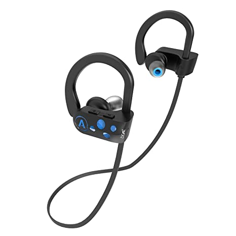boAt Rockerz 261 Sports Wireless Earphones (Jazzy Blue) In-Ear Headphones at amazon