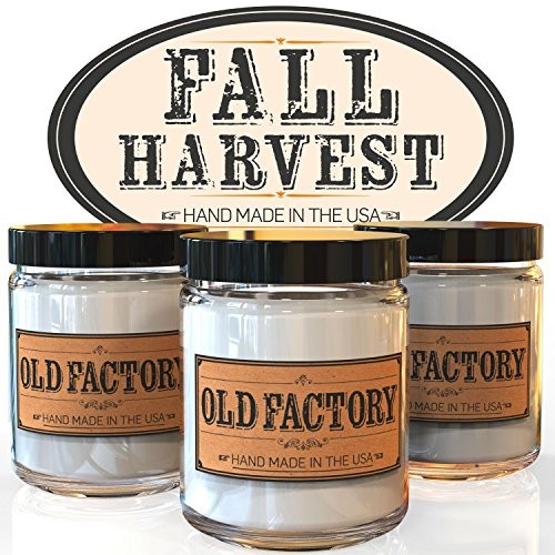 Scented Candles - Fall Harvest - Set of  - Fall Themed Candle Shopping Results