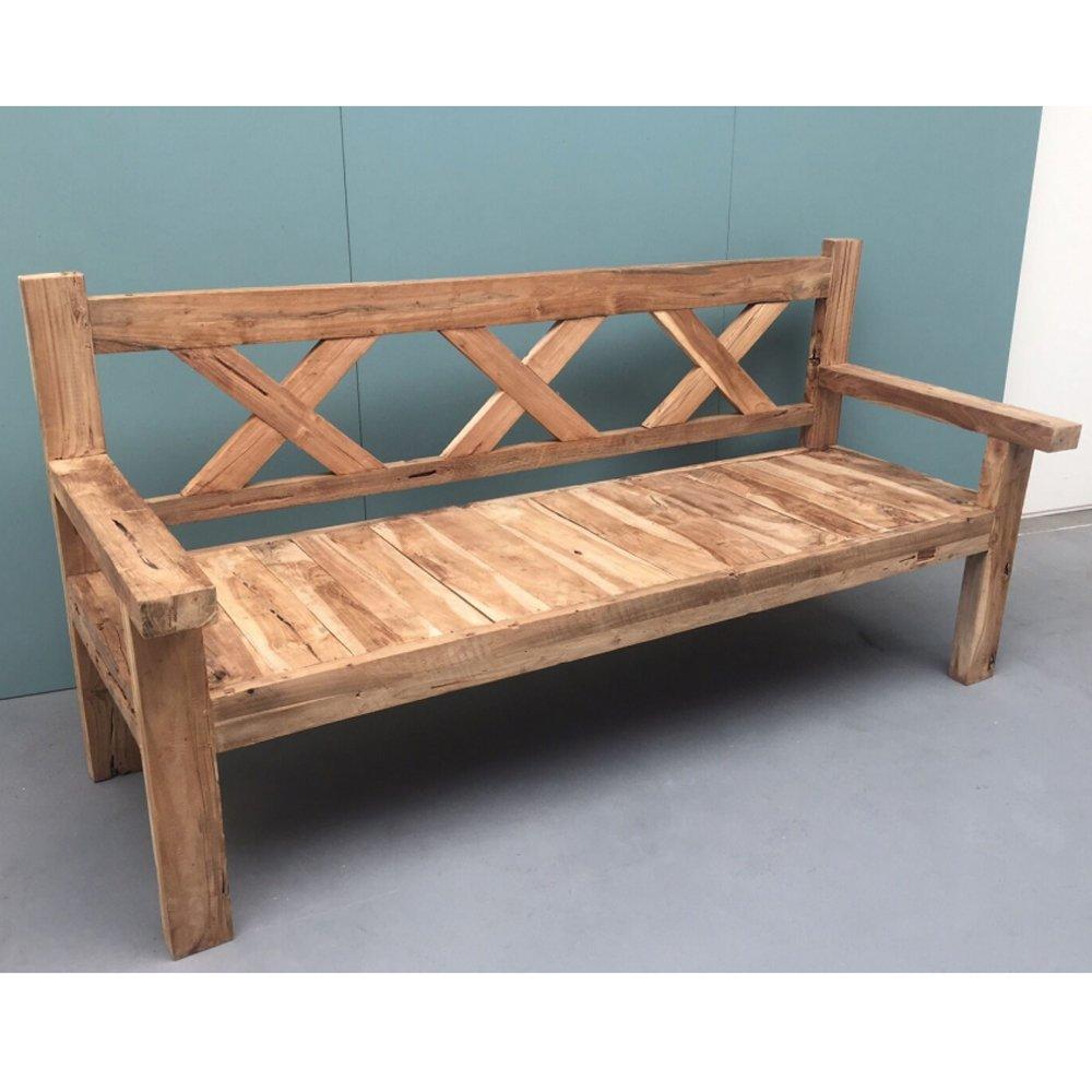 4 sitzer gartenbank patina 200 cm sitzbank bank gartenm bel garten teakholz jetzt bestellen. Black Bedroom Furniture Sets. Home Design Ideas