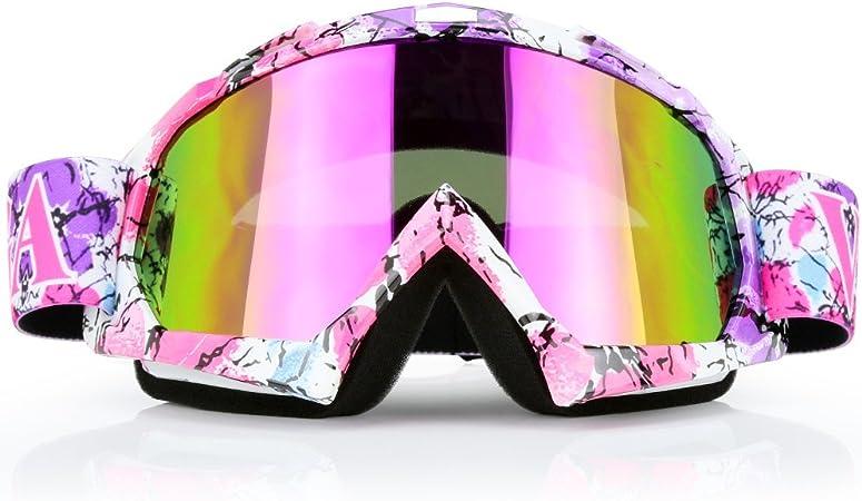 Motorradbrille Dirtbike Atv Motocross Mx Brille Brille Für Herren Damen Jugend C42 Bekleidung