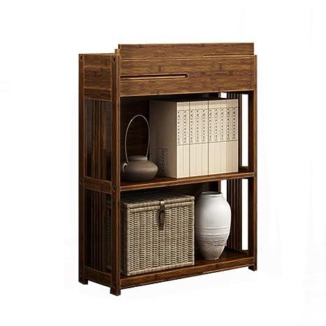 Amazon.com: Banco de almacenamiento de bambú antiguo para ...