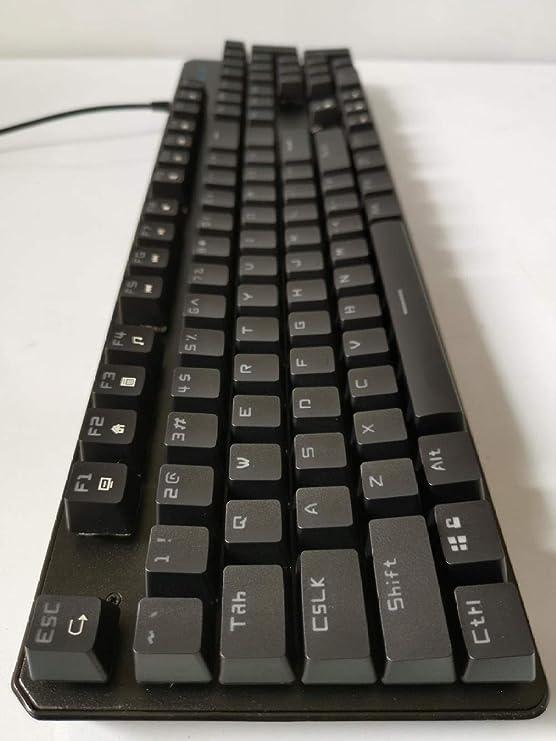 WENKANG Teclado mecánico Genuino USB Juego de computadora ...