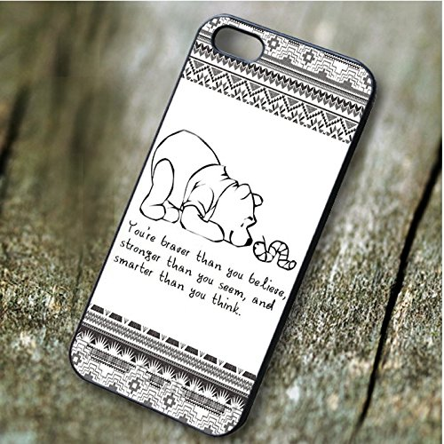 Winnie The Pooh Aztec Quote - tr3 for Iphone 6 and Iphone 6s Case