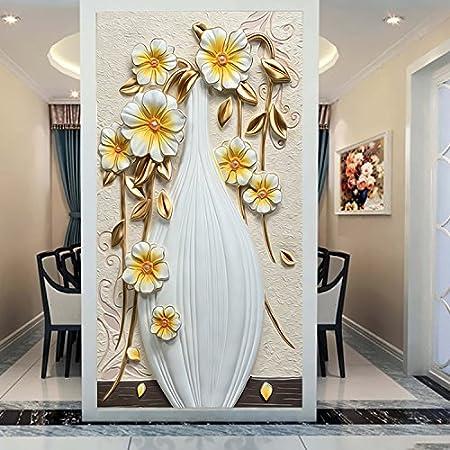 300cmx250cm 3d murals wall paper white vase flower 3d wall murals300cmx250cm 3d murals wall paper white vase flower 3d wall murals wallpaper for living room murals amazon co uk diy \u0026 tools