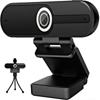 4K Webcam with Microphone Computer Camera 8MP USB Webcam 1080P for Video Calling, Conference, Streaming, Webcam with…