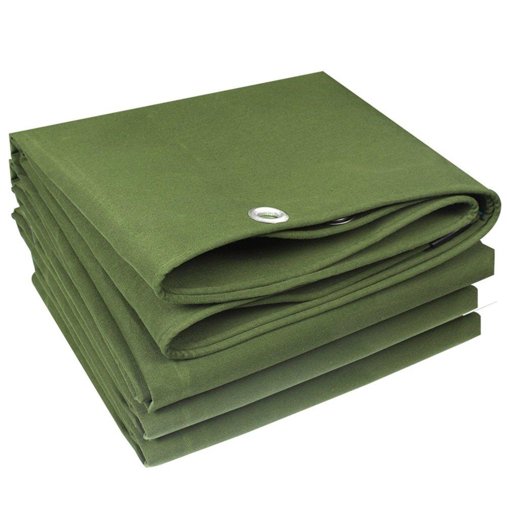 CHAOXIANG オーニング 厚い 両面 防水 耐寒性 日焼け止め 耐高温性 防風 防塵の 耐摩耗性 耐食性 シリコンクロス 緑、 550g/m 2、 厚さ 0.8mm、 16サイズ (色 : 緑, サイズ さいず : 2x4m) B07DBPDCBQ 2x4m|緑 緑 2x4m