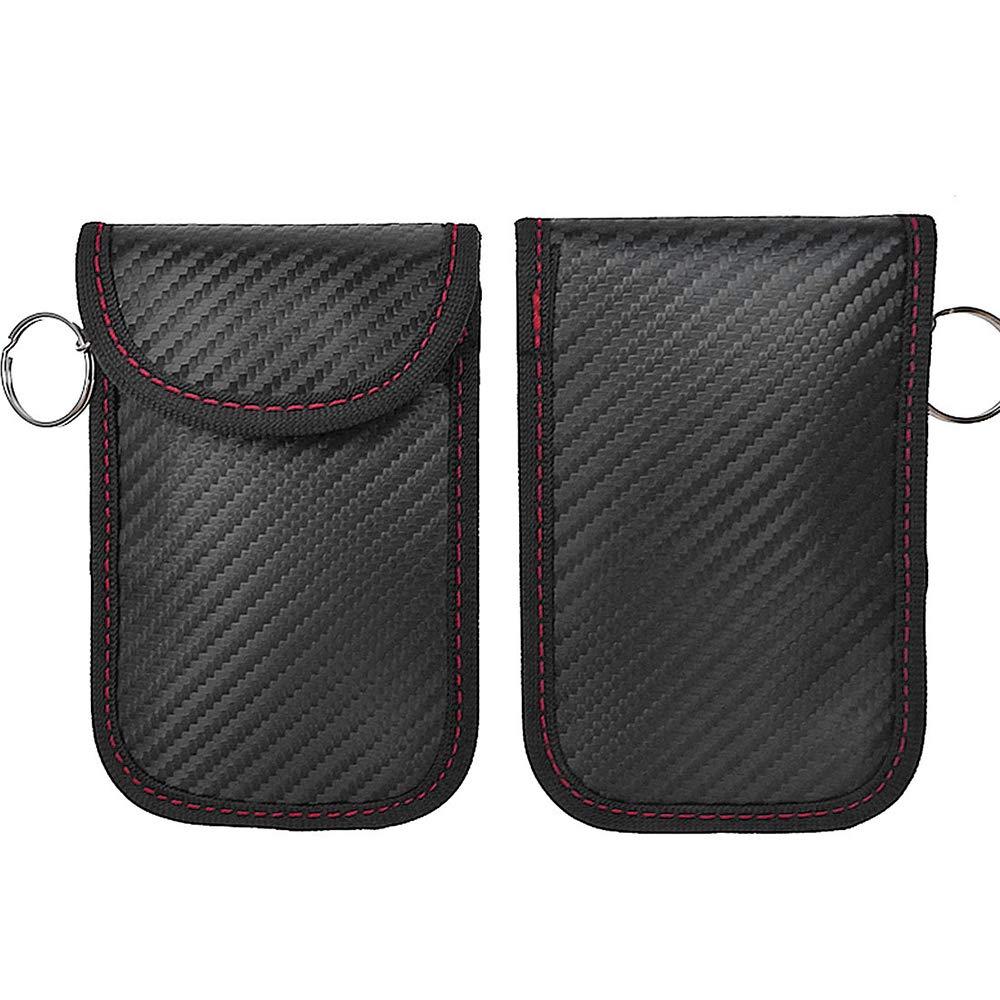 Samtlan Strahlenschutz Tasche RFID Signalblocker Schutz Keyless Go Schutz Autoschl/üssel H/ülle RFID Blocker Schutzh/üllen RFID//NFC//WLAN//GSM//LTE Blocker