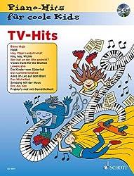 TV-Hits: Piano-Hits für coole Kids. Klavier. Ausgabe mit CD.