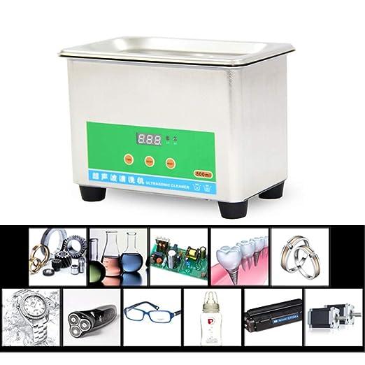 LXMBox Limpiador ultrasónico de 40 khz, pequeña Lavadora doméstica ...
