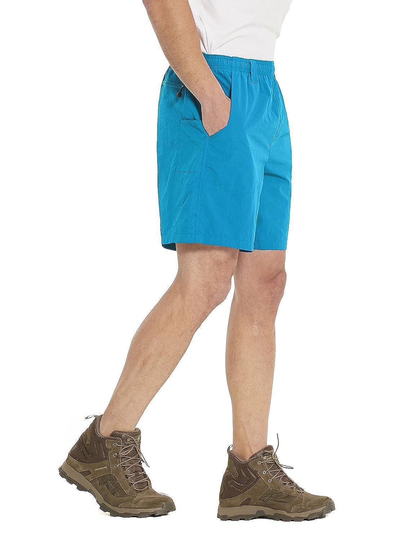Baleaf Mens Hiking Shorts Quick Dry UPF 50 Cargo Shorts with Zipper Pocket