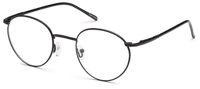 Amazon.com: Mens Oval anteojos Marcos Prescription anteojos ...
