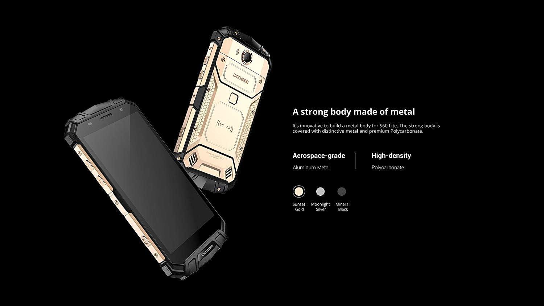 DOOGEE S60 Lite - 5.2 Inch FHD Waterproof/Shockproof/Dustproof 4G ...