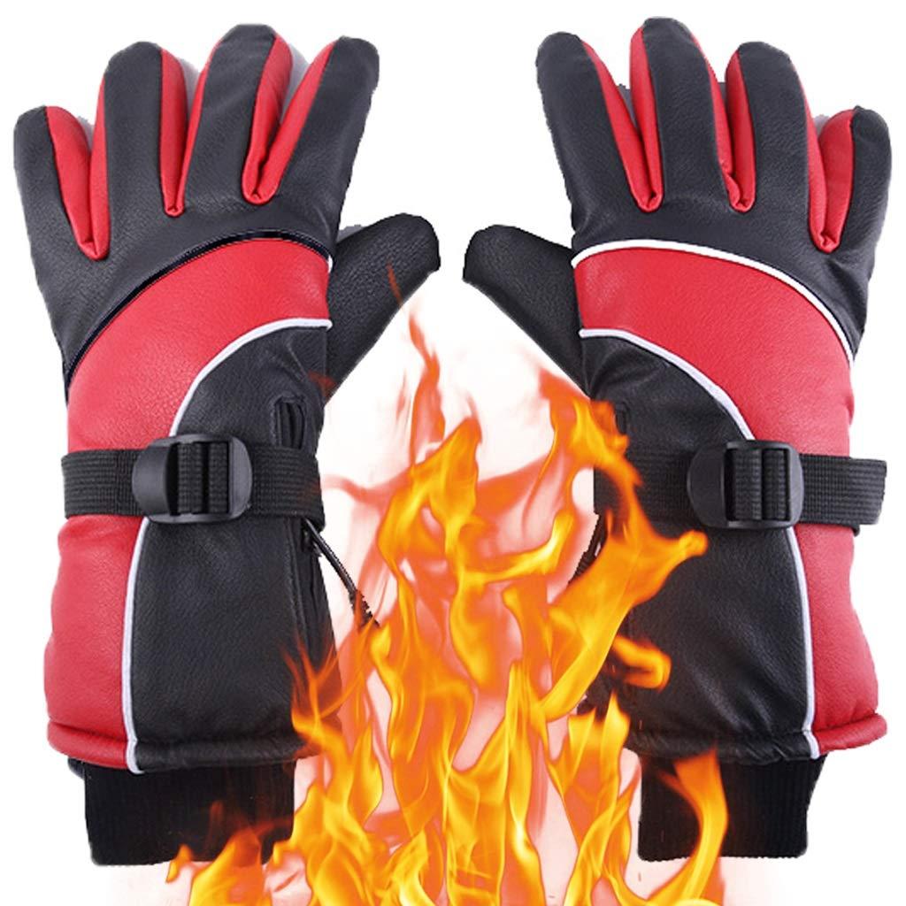 NSDFG Guantes calefactables Guantes de calefacci/ón recargables for hombres y mujeres invierno artritis de la ma pantalla t/áctil resistente al agua de control inteligente de temperatura de hasta 65 /°