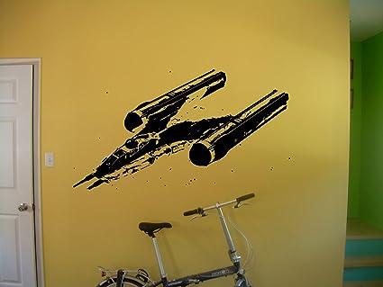 Amazon.com: Y-wing Starfighter Decal Sticker Star Wars Atat Death ...
