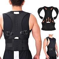 RIRGI Geradehalter zur Haltungskorrektur für Damen und Herren Rückentrainer für perfekte Haltung gegen Nacken- und Schulterschmerzen