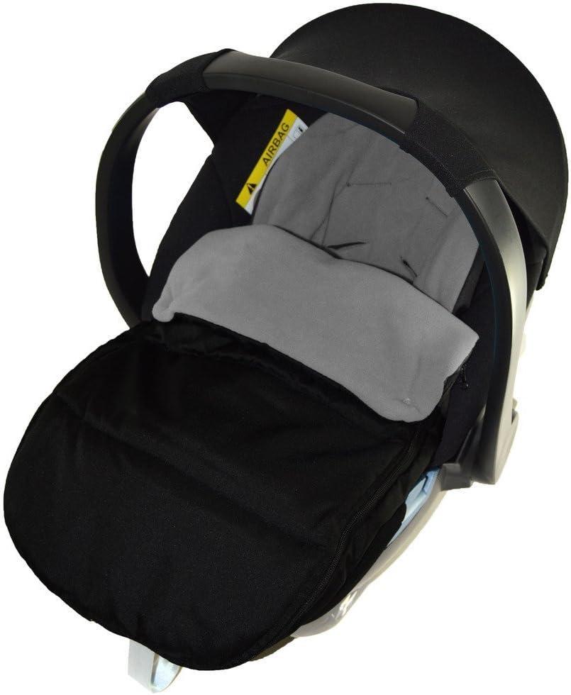 Chanceli/ère Si/ège auto//Cosy orteils Compatible avec Stokke Nouveau Si/ège auto Born Dolphin Gris