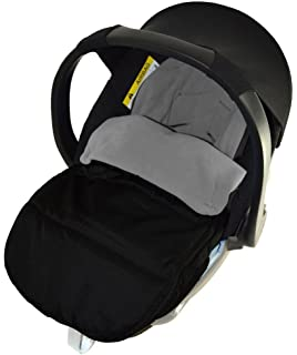 Car Seat Footmuff Cosy Toes Compatible with Stokke New born Car seat Fire Red
