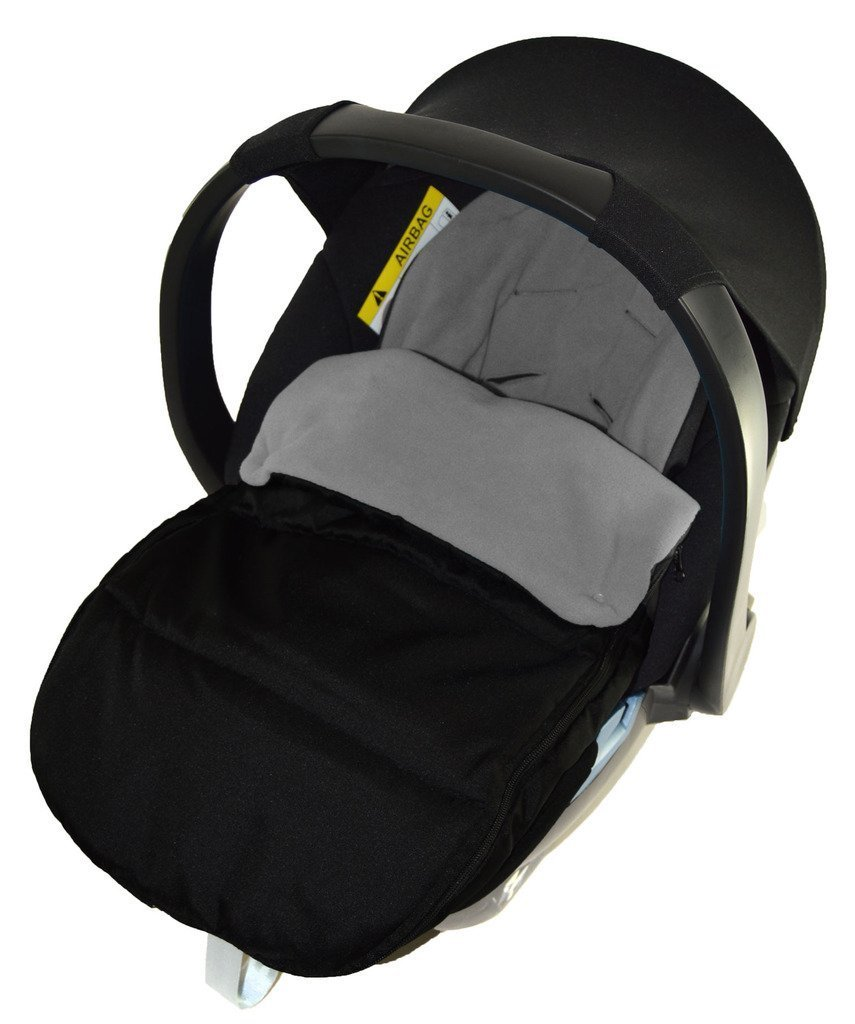 Car Seat Footmuff/Cosy Toes Compatible with Britax Baby Safe New Born Car seat Dolphin Grey For-Your-Little-One