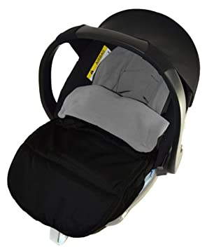 Car Seat Footmuff//Cosy Toes Compatible with Kiddy Evolution Pro Black Jack