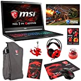 "MSI GS73VR STEALTH PRO-224 (i7-7700HQ, 16GB RAM, 256GB NVMe SSD + 2TB HDD, NVIDIA GTX 1060 6GB, 17.3"" Full HD, 120Hz, Windows 10) VR Ready Gaming Notebook"
