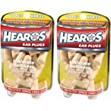Hearos Ultimate Softness Series Foam Earplugs, 40-Pair