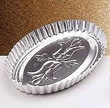 Italo Ottinetti Oval Shaped Baking-Pan 31 cm, Metallic, One Size