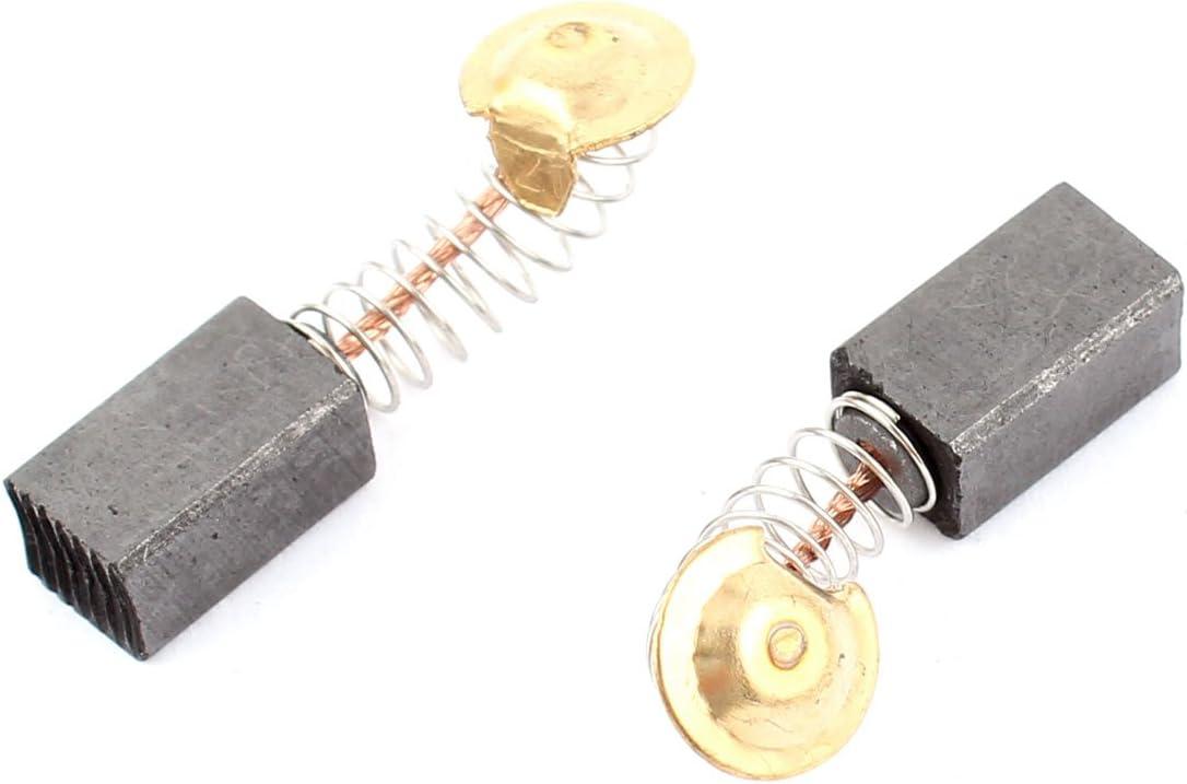 sourcingmap 20 piezas Escobillas de carb/ón del motor el/éctrico 13mm x 7.5mm x 6.5mm gen/érico