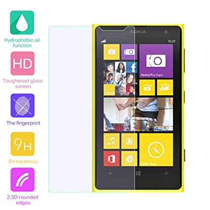 PELLICOLA VETRO TEMPERATO PER NOKIA LUMIA 1020 TEMPERED GLASS SCREEN PROTECTOR