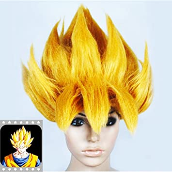 Perruque Sangoku Super Saiyan Dragon Ball