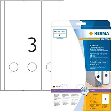 File Art 4 Design Ordner-Etiketten Type Machine..............................015