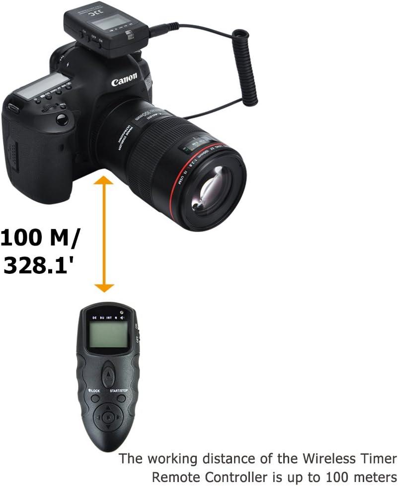 JJC disparador remoto temporizador mandos a distancia para Nikon ...