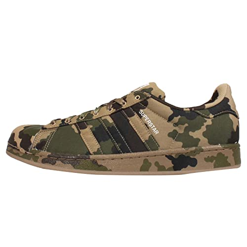 hot sales 28136 b6282 adidas Originals Men s Superstar Graphic Pack Light Brown, Black and White  Canvas Running Shoes - 10 UK  Buy Online at Low Prices in India - Amazon.in