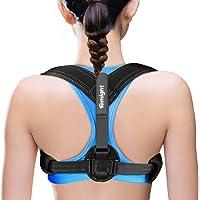 Back Posture Corrector for Women & Men,Tomight Adjustable Back Brace for Improving Posture-Clavicle Support for…