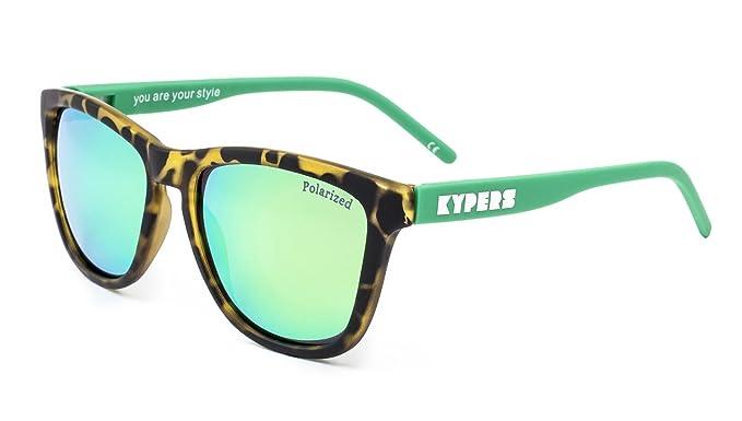 KYPERS Caipirinha, Gafas de sol Unisex, Havanna Green Mirror ...